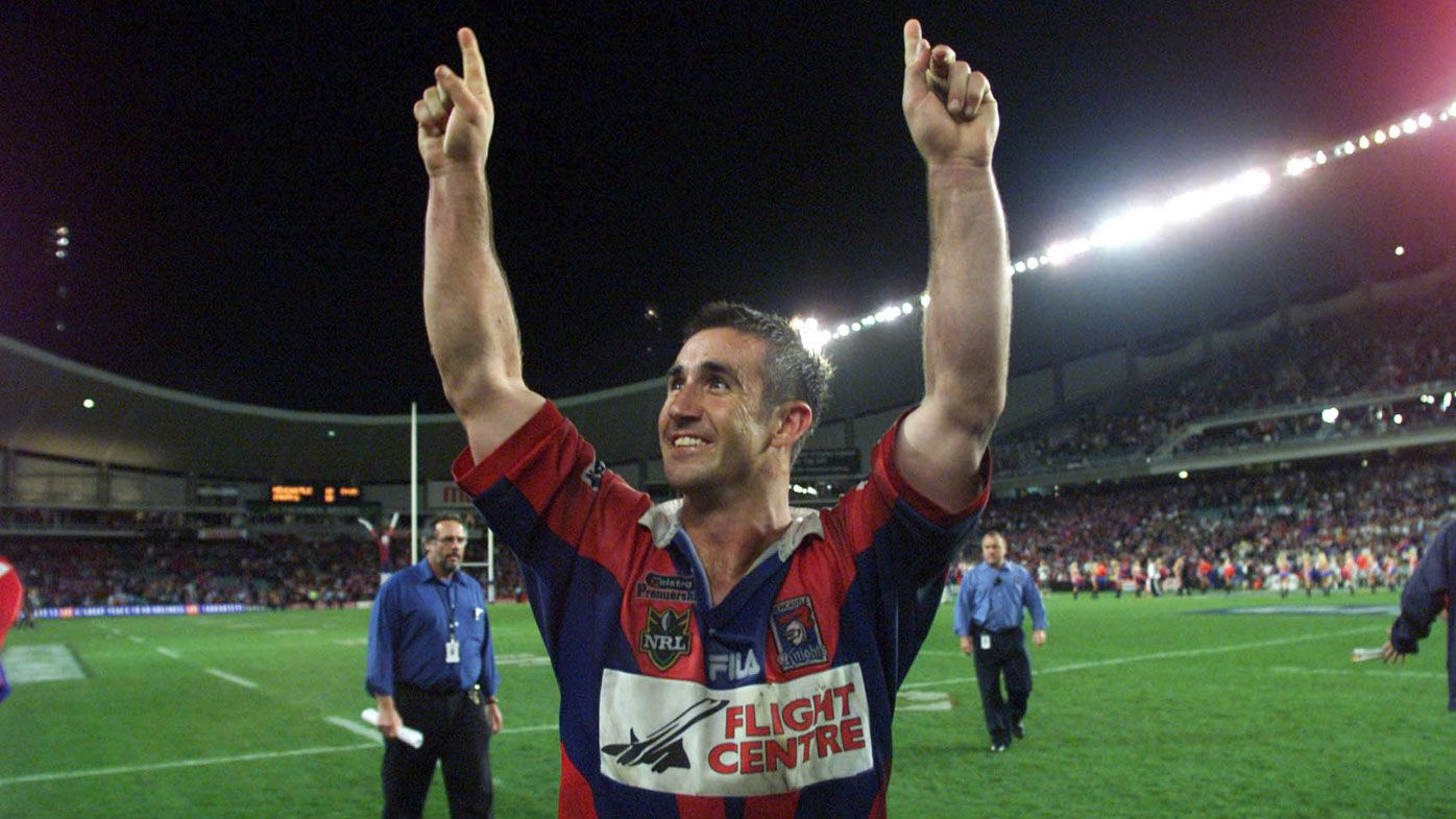Andrew Johns lifts the lid on the Knights 1997 premiership celebrations