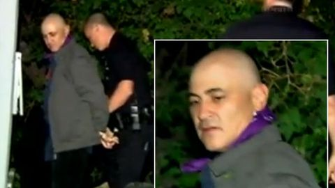 'She's my wife!' Watch: Miley Cyrus' creepy scissor stalker arrested at her home