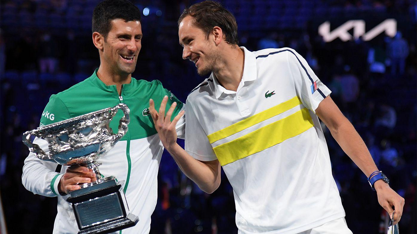Daniil Medvedev speech challenges villainous Novak Djokovic image, Serbian legend returns beautiful words
