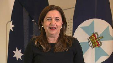 Queensland Premier Annastacia Palaszczuk gives a COVID-19 update