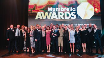 Nine's sales team won sales team of the year at the Mumbrella Awards