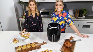 Britt Cohen and Jane de Graaff look at fun air fryer hacks