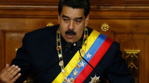 Venezuela's President Nicolas Maduro defends the all-powerful assembly as the country's only hope for peace and prosperity (AP Photo/Ariana Cubillos).