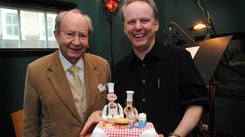 "Wallace and Gromit creator Nick Park described Sallis as a ""unique character"". (AAP)"