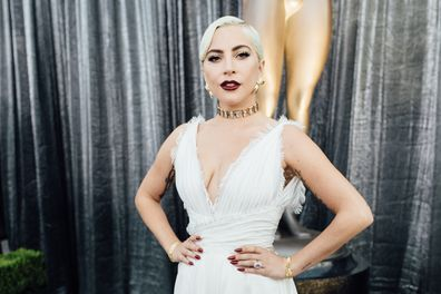 Lady Gaga arrives at the 25th annual Screen Actors Guild Awards at The Shrine Auditorium on January 27, 2019 in Los Angeles, California.