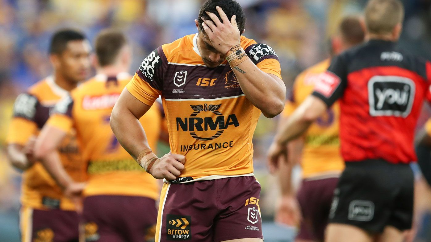 Broncos thrashed by Eels