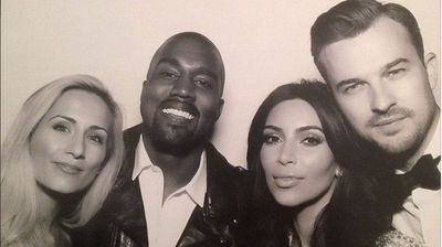Kim and Kanye and Pastor Rich Wilkerson Jr (Instagram).