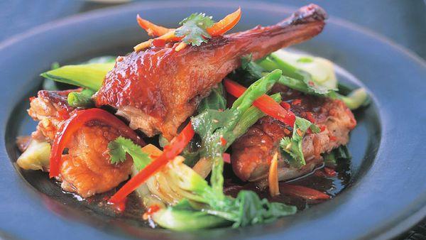 Tamarind duck stir fry