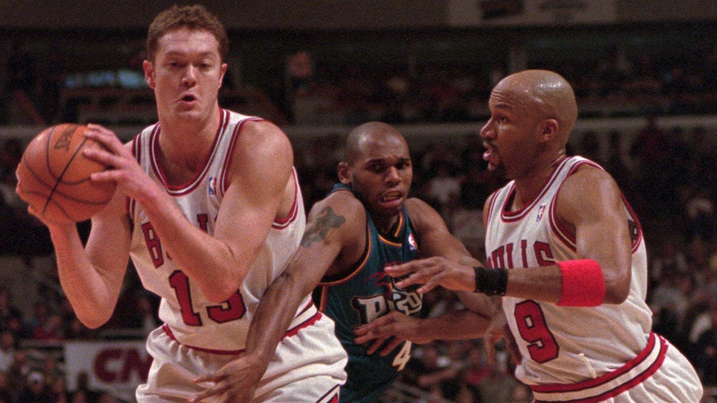 Luc Longley's impact on Australian basketball was huge, says former teammate Chris Anstey