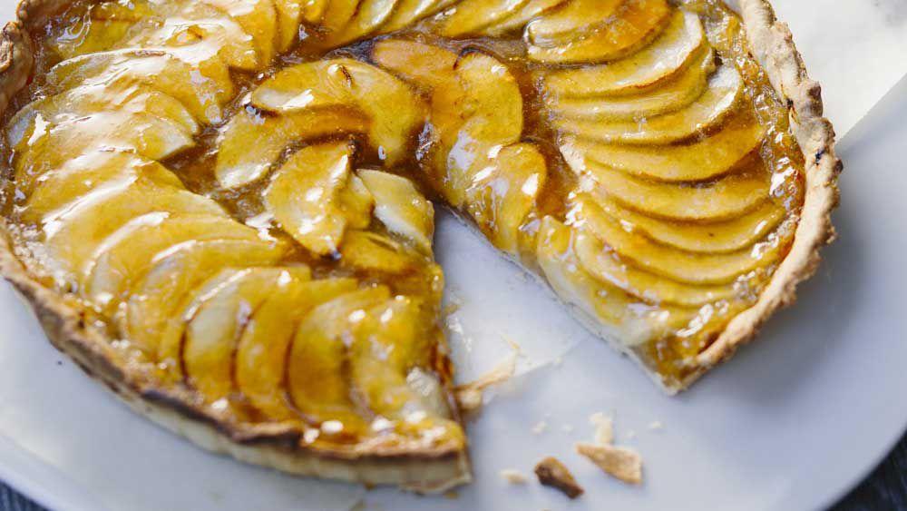 Margaret Fulton's French apple tart