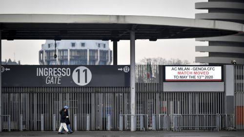 San Siro stadium, Milan