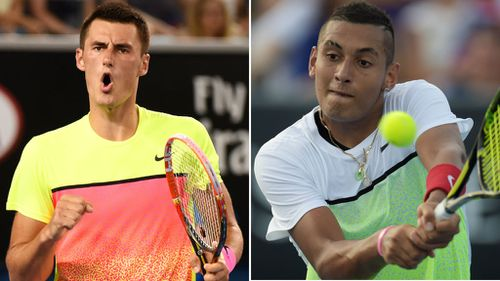 Tomic and Kyrgios make it into third round of Australian Open