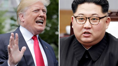 Mr Trump said he remains hopeful at summit between the US and North Korea can still take place. (AP)