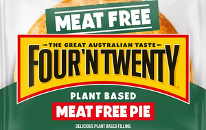 Four'N'Twenty has gone plant-based with meat free pies