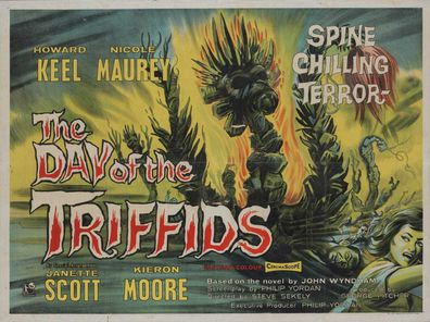 The poster for The Day of the Triffids
