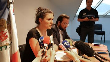Policewoman Sandra Bertin claims she was pressured to doctor the report into the security response to the Nice attack. (AFP)