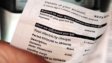 Electricity bills.