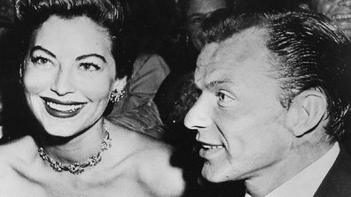 Ava Gardner and Frank Sinatra were married for six years.
