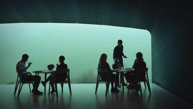 Norway's new underwater restaurant, Under