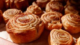 Three ingredient cinnamon scrolls