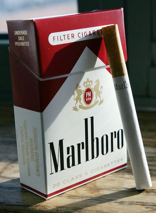 Philip Morris' brands include Marlboro, Parliament and Alpine cigarettes. (AAP)