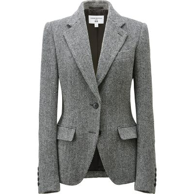 "<p>Power suit&nbsp;</p> <p>Double breasted wool jacket, $149.90, <a href=""http://www.uniqlo.com/au/store/women-carine-double-breasted-wool-blended-serge-jacket-1886400004.html"" target=""_blank"">Uniqlo</a></p>"