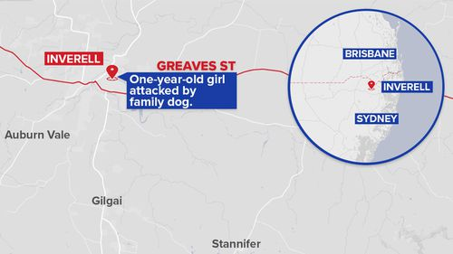 Inverell is located near the Queensland border. (9NEWS)
