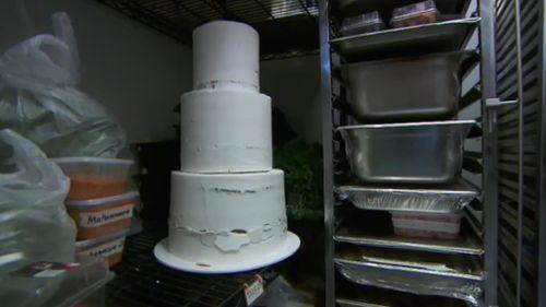 The wedding menu was fully vegan. (9NEWS)