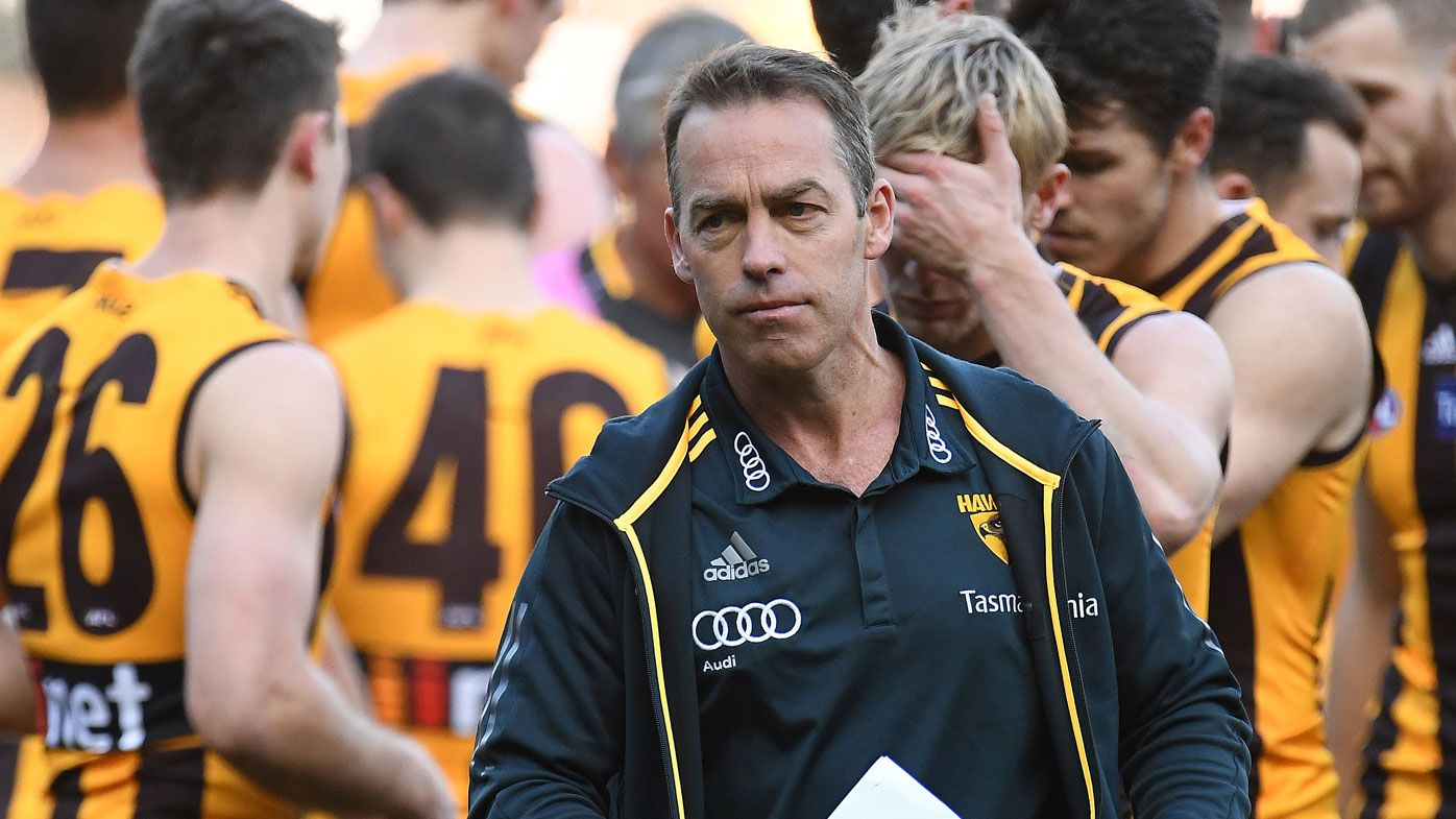Hawks coach Alastair Clarkson calls for full-time AFL umpires
