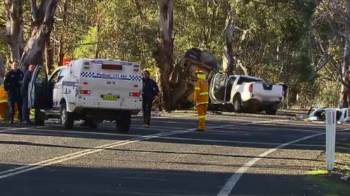 Two men die in horror crash in Sutton, NSW