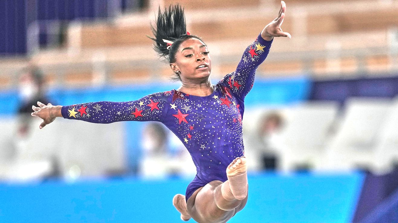 Simple Biles message melts shocked supporters