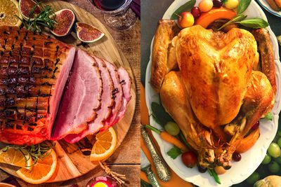 Swap ham for turkey