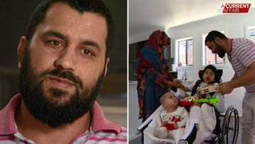 Family's carer payments cut off as they wait by son's hospital bed