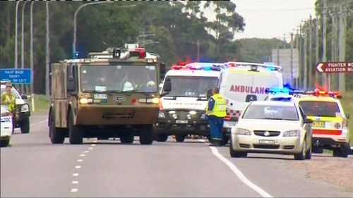 Shashati's own son and two other nephews survived the crash in Williamtown. (9NEWS)