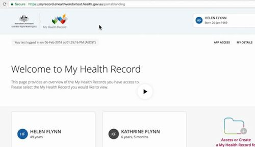 Under the system, Australians with a Medicare card will soon have an online health record automatically generated for them - unless they say no before Thursday.