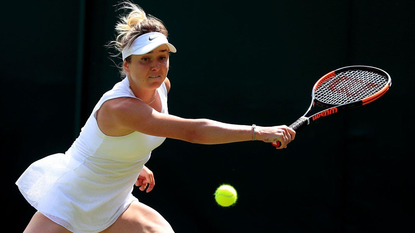 Elina Svitolina hits back at critics over her 'basic' dress at Wimbledon