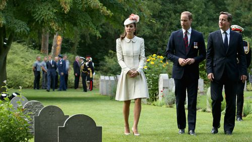 PHOTOS: Royals and world leaders unite to commemorate WWI anniversary