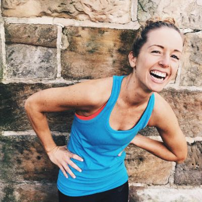 """<strong>Jess Robinson, creator of<a href=""""http://lazygirlfitness.com.au/"""">Lazy Girl Fitness</a></strong>"""