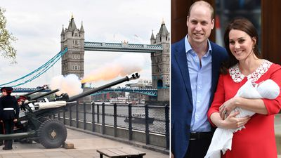 Charles 'overjoyed' at third grandchild as London welcomes new prince