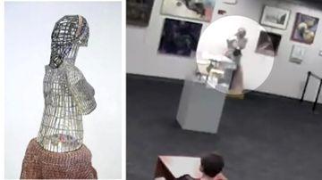 Boy's attempt to hug statue ends in $177k damage bill