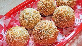 Baked arancini pumpkin risotto balls