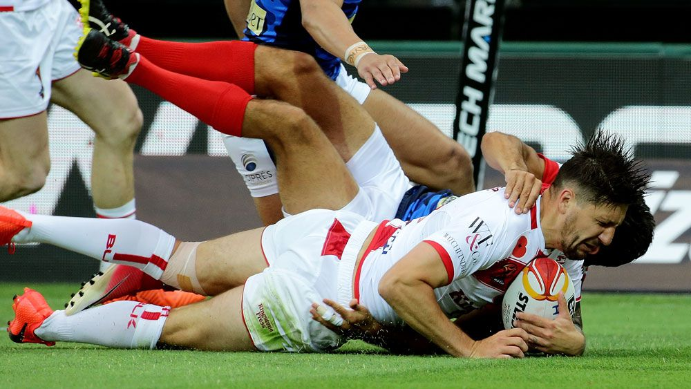 England crush France in Perth to advance to Rugby League World Cup quarter-finals