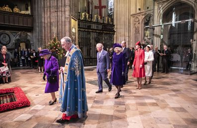 Commonwealth Day service royals