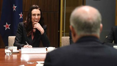 New Zealand Prime Minister Jacinda Ardern meets with her trans-Tasman counterpart Scott Morrison.