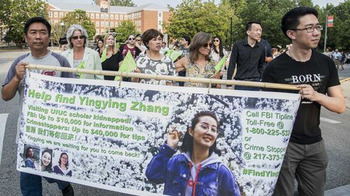 Yingying Zhang's family came to Urbana, Illinois, in the hopes of finding out what happened to her.