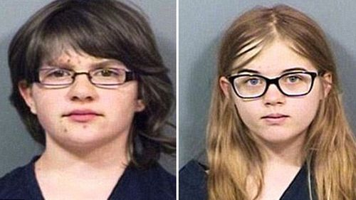 Anissa Weier and Morgan Geyser (pictured aged 12) were accused of stabbing classmate Payton Leutner 19 times in a Waukesha, Wisconsin, park in 2014.