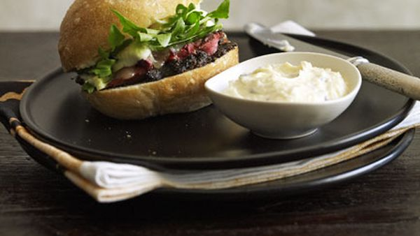 Thomas Keller: Roast beef sandwich