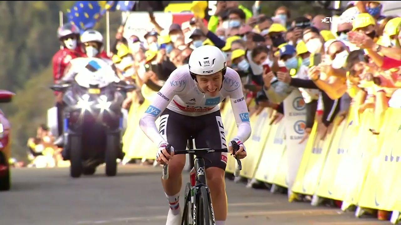 Slovenian rookie Tadej Pogacar wins Tour de France, Aussie Richie Porte seals podium place