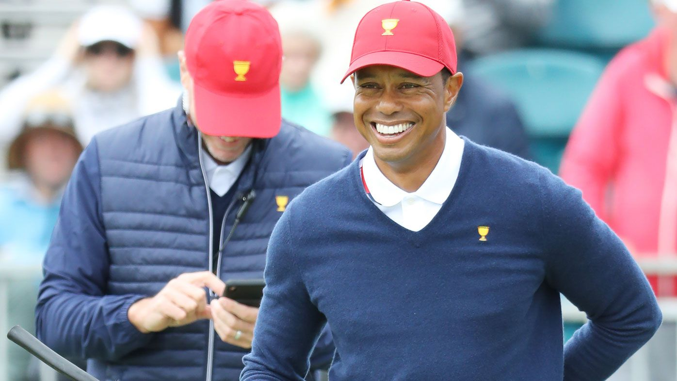 Justin Thomas says Tiger Woods texting at 1am during Presidents Cup build-up