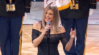 Fergie sexes up US national anthem at NBA All-Star Game and America isn't having it